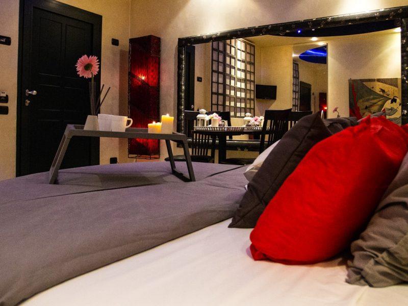 Camere Deluxe di Silk Motel Milano