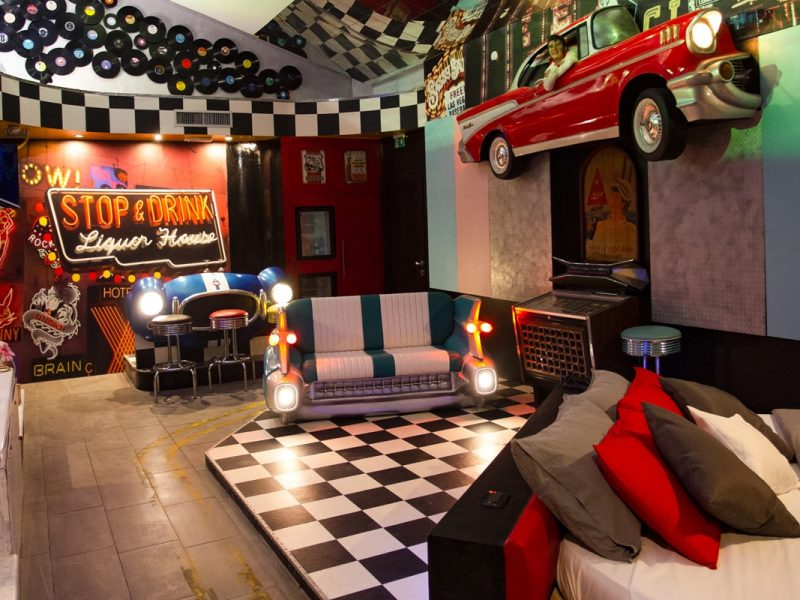 Supersuite Las Vegas di Silk Motel
