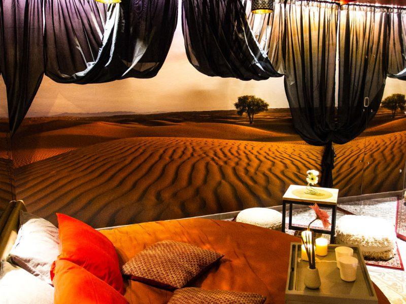 Stanza Te nel Deserto di Silk Motel