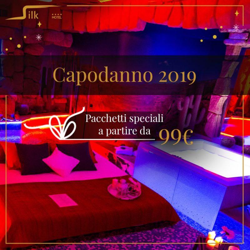 Capodanno 2019 Silk Motel Milano