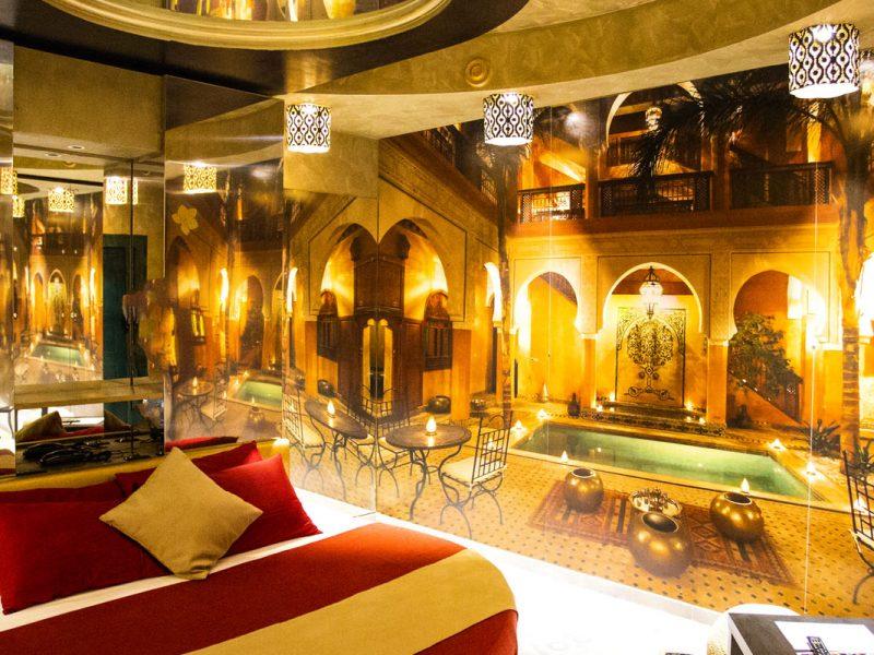 Camera Te nel Deserto 2 Silk Motel