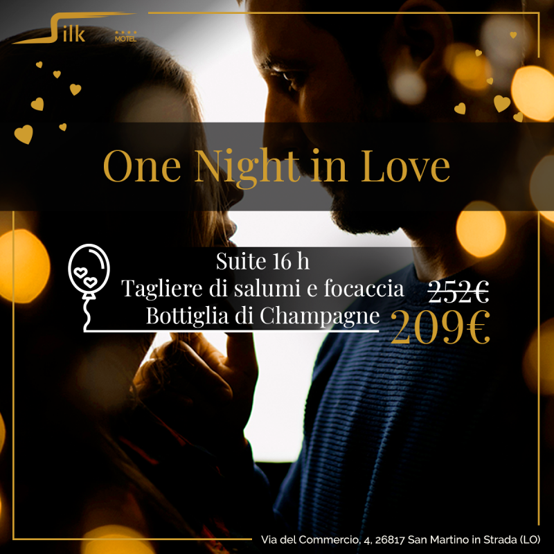 One Night in Love Silk Motel Milano